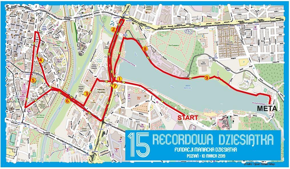 Trasa 16 Rekordowa Dziesiątka, Poznań