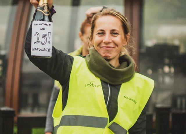 Sylwia Surków - koordynatorka i jedna z inicjatorek powstania lokalizacji parkrun Jezioro Swarzędzkie